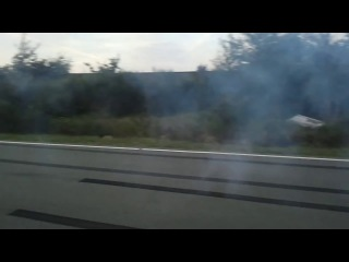 Ford Mustang FastBack GT-390 1968 Extreme Burnout