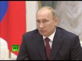 Путин о цензуре в Интернете