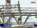 Строительство футбольного стадиона в Казани: готово на 65%