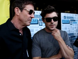 Зак и Деннис Куэйд дают интервью на кинофестивале SXSW (16.03.2013)