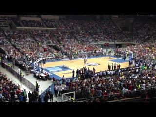 9 октября 2012. Шоу Данков на матче баскетбольной Барселоны - Даллас!