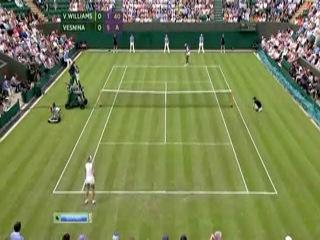 Wimbledon 2012 / 1-й круг / В.Уильямс (США) - Веснина (Россия)