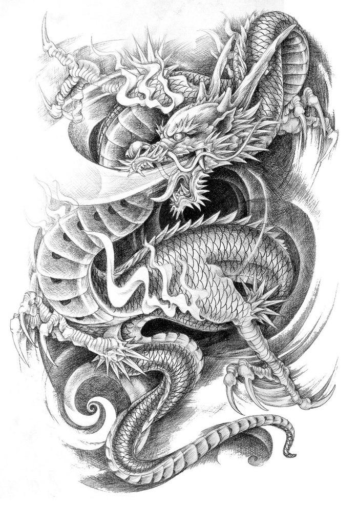 1000 Ideias Sobre Tatuagem De Drago Chins No Pinterest