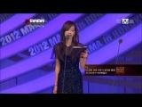 Victoria Present The TVB's Choice at MAMA (121130)