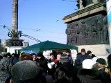 Европопы - сектанты любятся в палатке на набережной Донецка