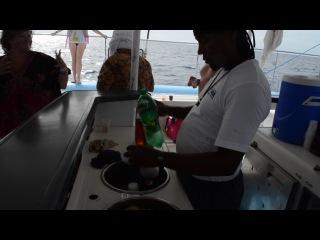 Доминикана. Танцы на корабле)