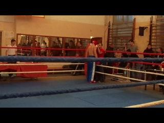 Саночкин кик-боксинг красный угол
