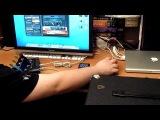Подключаем звуковую карту к усилителю мощности