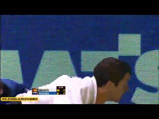 2013 World Championships Rio (-66kg Repechage) URIARTE Sugoi (ESP) - PULYAEV Mikhail (RUS)