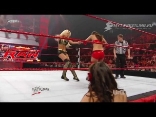 [My1Wrestling.ru] WWE Monday Night RAW 04.01.2010 - Maryse vs. Brie Bella (WWE Divas Title Tournament Quarter Final Match)
