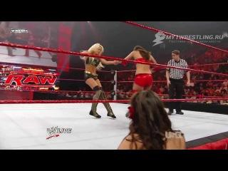 [My1Wrestling.ru] WWE Monday Night RAW 04.01.2010 - Maryse vs. Brie Bella (WWE Divas Title Tournament Quarter Final Match)