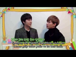 140206 Eunhyuk & Kyuhyun - Şiddete Son Verin Mesajı (Türkçe Altyazılı)