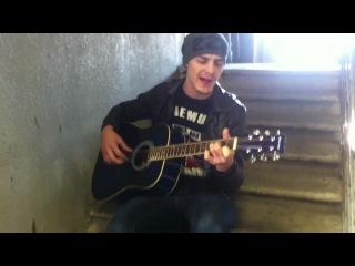 Песни Под Гитару / Амирхан Масаев - Я сижу у окна