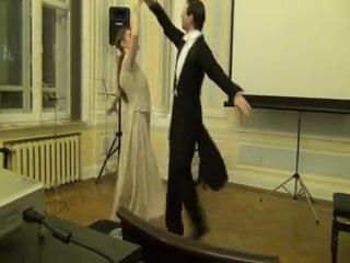Екатерина Громова и Сергей Голубев. Вальс воспоминаний. Выступление в Венгерском культурном центре