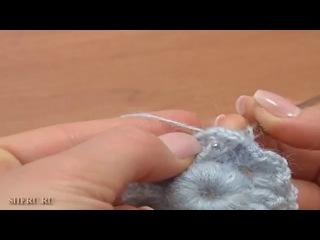 Фриформ крючком Урок 2 часть 1 из 2 Вязание крючком скрамбли