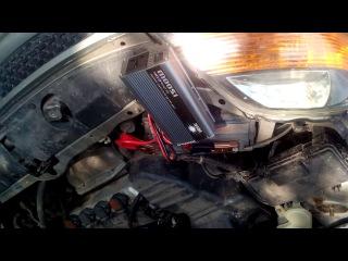 Розетка на 220 в авто или правильный инвертор, схема подключения