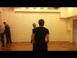 Сценический бой Школа-студия МХАТ , педагог наказывает студента Метёлкина