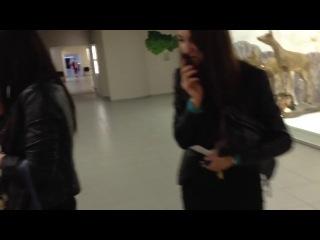 Девчонки сходили в музей
