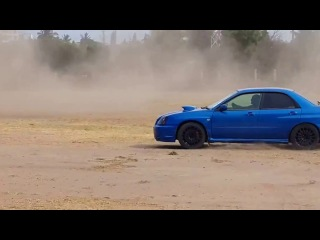 Raj Singh Deere - Subaru Impreza - SFT Trail Rally Sprint 2014 - Dar Es Salaam, Tanzania