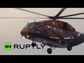Тестовый полет третьего прототипа вертолета Ми-38_HD