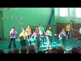 Конкурс ритмической гимнастики. 8