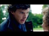 Отрывок из сериала Шерлок. Прикол. Ох уж это сложное имя...