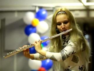 Варвара Шашкова,флейта.