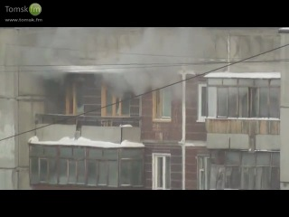 Взрыв в Томске на Сибирской 33