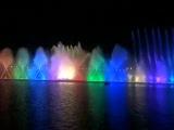 Шарджа.Цветные , поющие фонтаны.