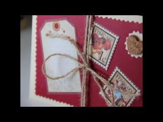 Конверты и открытки ручной работы