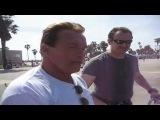 Bill Pettis & Arnold Schwarzenegger Venice Muscle Beach