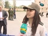 """Qubada """"Şahin"""" hərbi-idman oyunu üzrə yarışların zona birinciliyi keçirilib"""