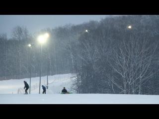 КАК Ранис учился кататься на сноуборде