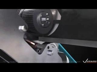 Технология проточки канавок Victaulic Россия (Виктолик, Виктаулик) на трубах для бессварного соединения болтовой муфтой