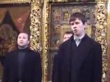 Совет превечный П.Г.Чесноков Мужской хор соло бас