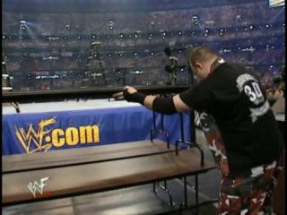 ALL TLC Matches.Match 4.Wrestlemania X-Seven.World Tag Team Championship:Dudley Boys(c) vs. Hardy Boys vs. Edge and Christian