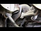 Ремонт и замена передних нижних рычагов управления на Ауди А6 (Audi A6 C5)