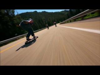 What is longboard downhill?