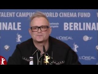 Пресс-конференция о фильме Вик и Фло увидели медведя. Берлинский кинофестиваль, февраль 2013.