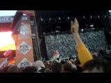 Перед выступлением Rammstein
