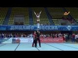 E.X.T.R.A. Саша и Лиза партнерские станты Чемпионат России 2014