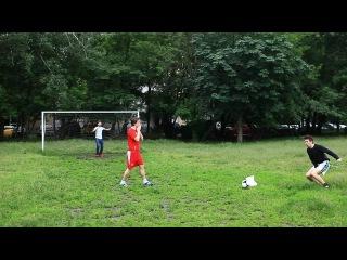 ЧМ 2014 Прикол про футбол (очень смешно)ЧМ 2014. 1/2 финала. Нидерланды - Аргентина 0-0. Серия пенальти.