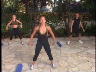 Голливудский тренер Идеальный пресс и коррекция бедер и ягодиц 2003 Фитнес аэробика