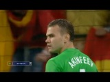 Чемпионат Европы 2008 / Россия - Испания / 1-4/ лучшие сейвы И.Акинфеева в матче