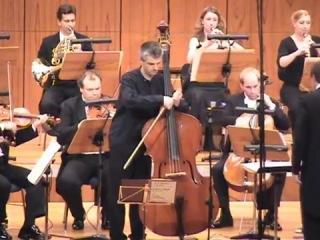 Capuzzi, double bass concerto (1st mov.) - Božo Paradžik (double bass), SWDKO-Sebastian Tewinkel
