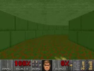 PC Doom II- First secret exit-secret level