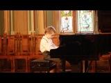 Международный конкурс юных пианистов в Риге, Латвия, 2013. Первая премия, группа дебют, соло. Телеман Фантазия, Шитте этюд 2, Чазинс Банджо бой, Чайковский Баба Яга