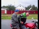 Баба Люба и Suzuki Bandit