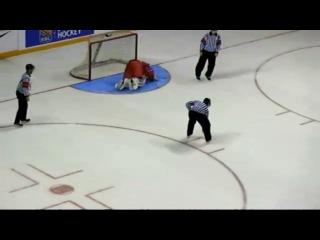2014 WHC-17: Ilya Samsonov Amazing Save vs Ontario