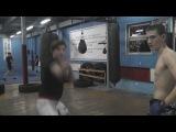 Киборг - уличный бой